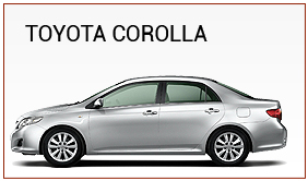 toyota-corolla for rent